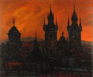 Ráno v Praze - příklad z realistické tvorby
